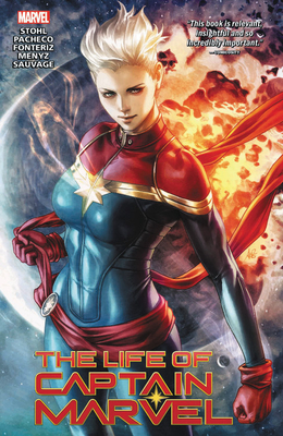 The Life of Captain Marvel Cover Image