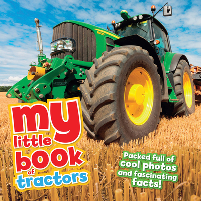 My Little Book of Tractors Cover Image