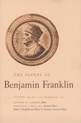 Cover for The Papers of Benjamin Franklin, Vol. 4