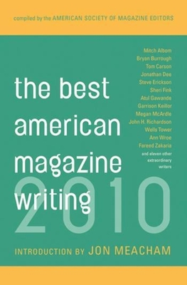 The Best American Magazine Writing Cover