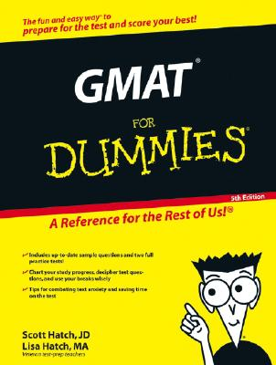 GMAT For Dummies Cover