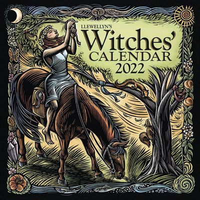 Llewellyn's 2022 Witches' Calendar Cover Image