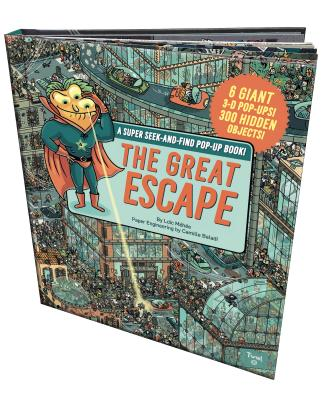 The Great Escape: A Super Seek-and-Find Pop-Up Book! Cover Image