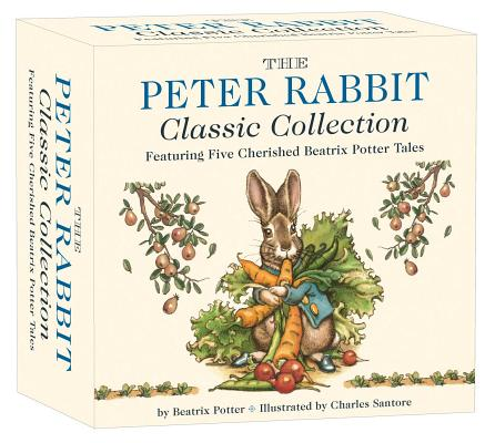 The Peter Rabbit Classic Collection: The Classic Edition Board Book Box Set Cover Image