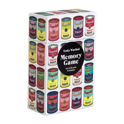 Andy Warhol Memory Game Cover Image