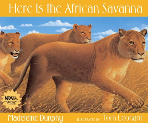 Here Is the African Savanna (Web of Life) Cover Image