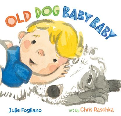 Old Dog Baby Baby by Julie Fog