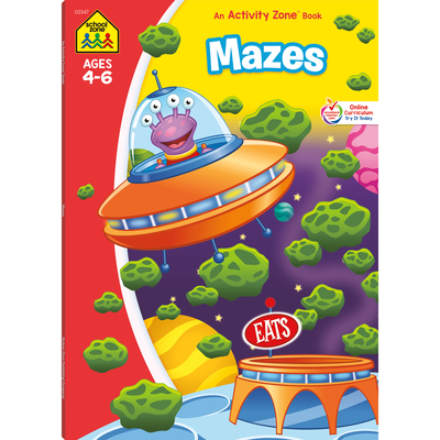Mazes Deluxe Edition Activity Zone Workbook Cover Image