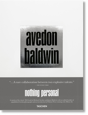 Richard Avedon, James Baldwin. Nothing Personal Cover Image