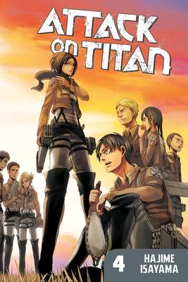 Attack on Titan, Volume 4 Cover