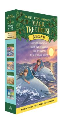 Magic Tree House Volumes 9-12 Boxed Set (Magic Tree House (R)) Cover Image