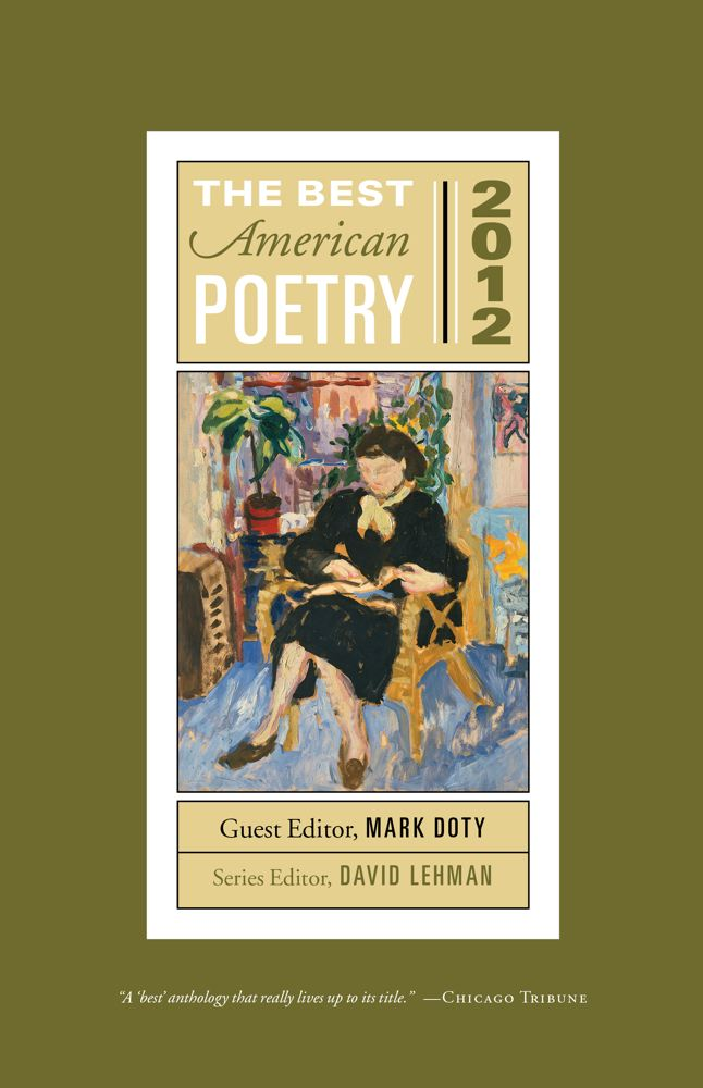 The Best American Poetry 2012 Cover
