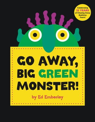 Go Away, Big Green Monster! Cover