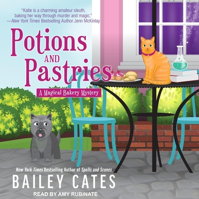 Cover for Potions and Pastries (Magical Bakery Mysteries #7)