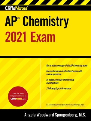CliffsNotes AP Chemistry 2021 Exam Cover Image