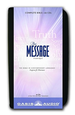 The Message Bible: Complete Bible Cover Image