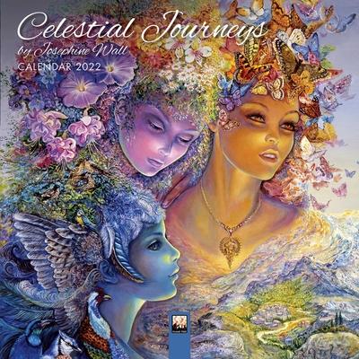 Celestial Calendar 2022.Celestial Journeys By Josephine Wall Mini Wall Calendar 2022 Art Calendar Calendar Politics And Prose Bookstore