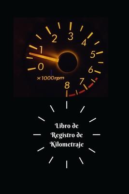 Libro de Registro de Kilometraje Cover Image
