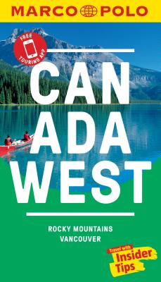 Canada West Marco Polo Pocket Travel Guide - With Pull Out Map Cover Image