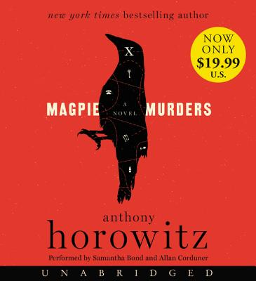 Magpie Murders Low Price CD: A Novel Cover Image