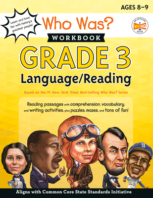 Who Was? Workbook: Grade 3 Language/Reading (Who Was? Workbooks) Cover Image