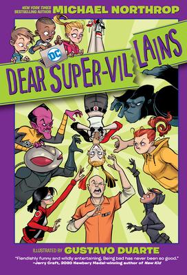 Dear DC Super-Villains Cover Image