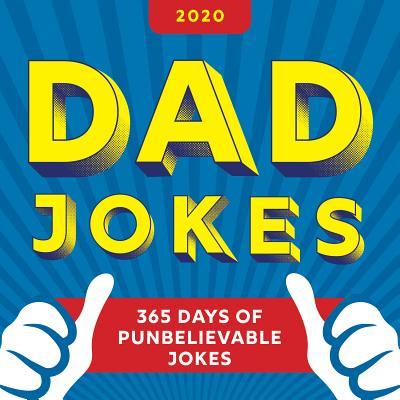 2020 Dad Jokes Boxed Calendar: 365 Days of Punbelievable Jokes Cover Image