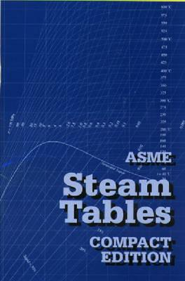 Asme Steam Tables Compact Edition Cover Image