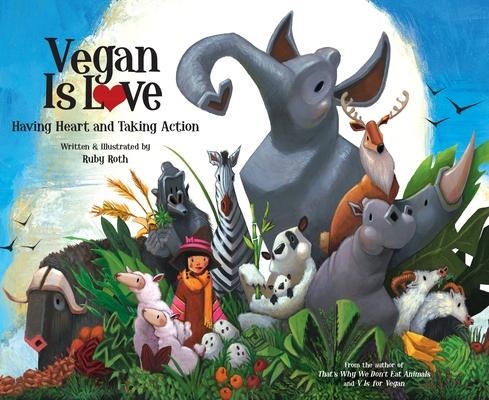 Vegan Is Love Cover