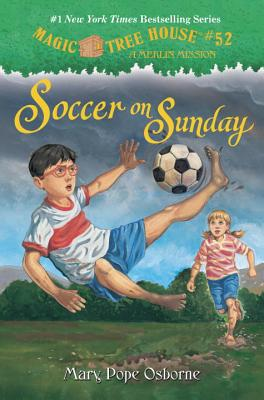 Soccer on Sunday (Magic Tree House (R) Merlin Mission #52) Cover Image