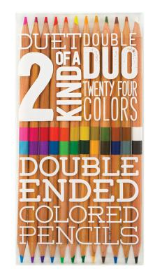 Two of a Kind Colored Pencils - Set of 12 Cover Image