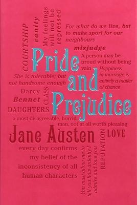 Pride and Prejudice (Word Cloud Classics) Cover Image