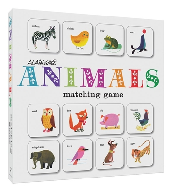 Alain Grée Animals Matching Game Cover Image