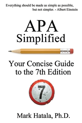 APA Simplified: Your Concise Guide to the 7th Edition Cover Image