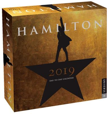 Hamilton 2019 Day-to-Day Calendar: An American Musical Cover Image