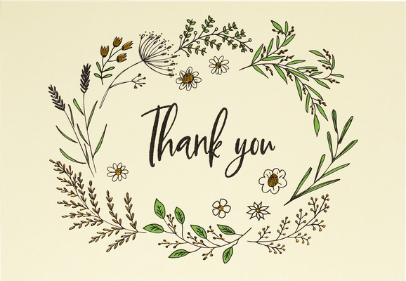 Native Botanicals Thank You Notes (Stationery, Note Cards, Boxed Cards) Cover Image