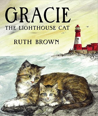 Gracie the Lighthouse Cat Cover