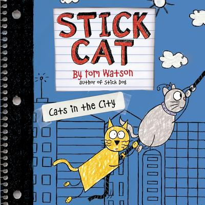 Stick Cat: Cats in the City Lib/E Cover Image