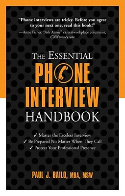 The Essential Phone Interview Handbook Cover