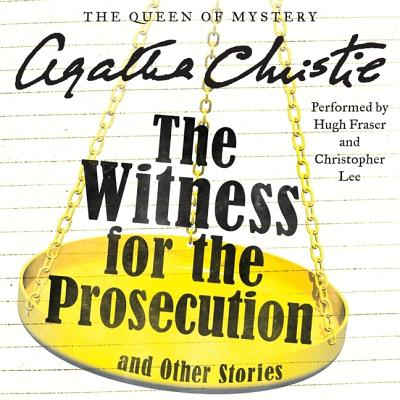 The Witness for the Prosecution and Other Stories Lib/E (Hercule Poirot Mysteries (Audio) #1948) Cover Image