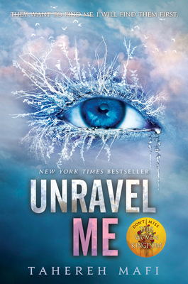 Unravel Me (Shatter Me #2) Cover Image