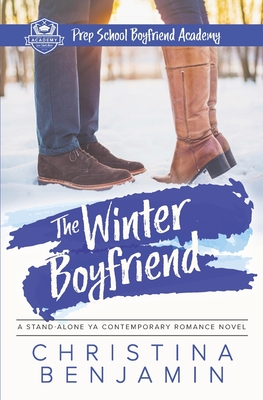 The Winter Boyfriend: A Stand-Alone YA Contemporary Romance Novel Cover Image