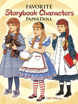 Favorite Storybook Characters Paper Doll (Paper Dolls) Cover Image