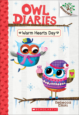 Warm Hearts Day (Owl Diaries #5) Cover Image