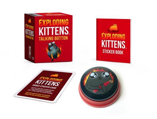 Exploding Kittens: Talking Button (RP Minis) Cover Image
