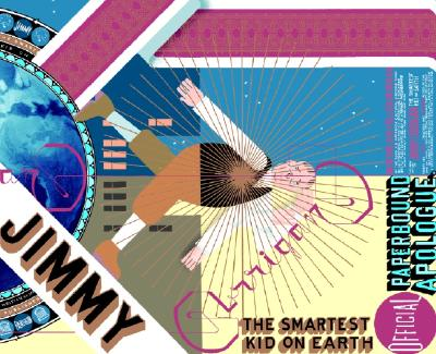 Jimmy Corrigan: The Smartest Kid on Earth (Pantheon Graphic Library) Cover Image