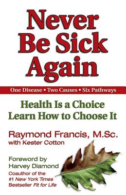 Never Be Sick Again: Health Is a Choice, Learn How to Choose It Cover Image