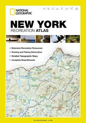 New York Recreation Atlas (National Geographic Recreation Atlas) Cover Image