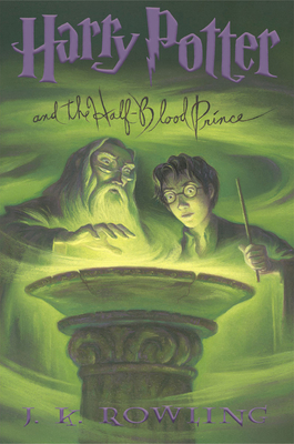 Harry Potter And The Half-Blood Prince Cover Image