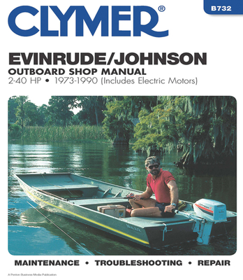 Evinrude/Johnson 2-40 HP OB 73-1990 Cover Image